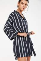 Cotton On Woven Dani 3/4 Sleeve Collar Playsuit