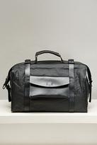 Victoria Black Hemp Briefcase