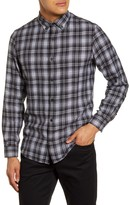 Calibrate Plaid Button-Down Flannel Shirt