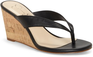 Jessica Simpson Coyrie Wedge Flip Flop