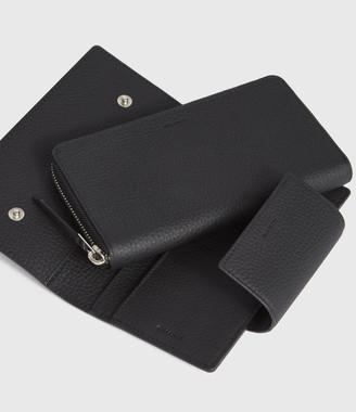 AllSaints Captain Leather Wallet