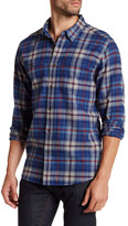 Quiksilver Long Sleeve Plaid Shirt