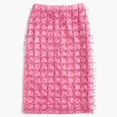 J.Crew Collection embellished satin skirt