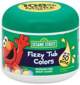 Sesame Street Bath Collection 24-Count Fizzy Tub Colors Water Coloring Tablets