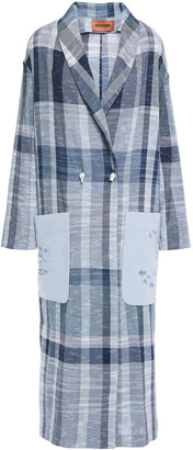 Missoni Checked Cotton-blend Coat