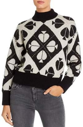 Kate Spade Spade Metallic Detail Pullover Sweater