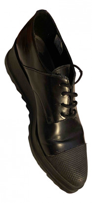 Jonak Black Leather Lace ups