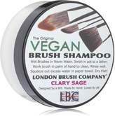 LBC By Siân Richards LONDON BRUSH COMPANY Vegan Young Coconut Milk Solid Brush Shampoo, Clary Sage 56 g