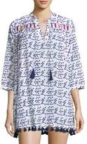 Roberta Roller Rabbit Serafina Printed Tassels Tunic