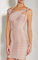 Herve Leger Vera Novelty Essentials Dress
