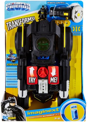 Fisher-Price Imaginext(R) DC Super Friends(TM) Transforming Batmobil(TM) R/C