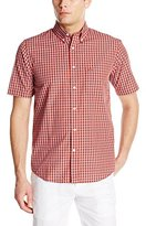 Dockers Short Sleeve No Wrinkle Signature Plaid Shirt