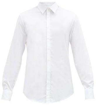 Bourrienne Paris X - Officielle Cotton-poplin Shirt - White