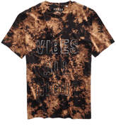GUESS Men's Vibes All Night V Neck T Shirt