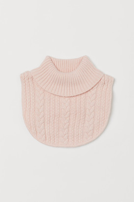 H&M Cable-knit Turtleneck Collar
