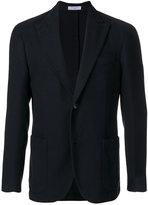Boglioli single breasted waffle jacket - men - Cotton/Cupro - 46