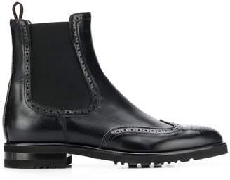 Fabiana Filippi brogue-style Chelsea boots
