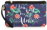 Tommy Bahama Boca Chica Floral You Had Me at Aloha Wristlet
