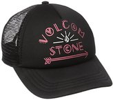 Volcom Juniors Carefree adjustable trucker Hat