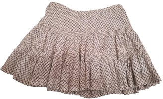 Polo Ralph Lauren Beige Cotton Skirt for Women