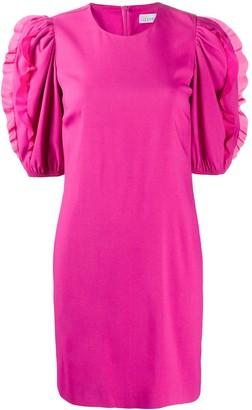 RED Valentino Ruffle-Detail Short Dress