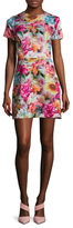 Alexia Admor Floral Printed A-Line Dress