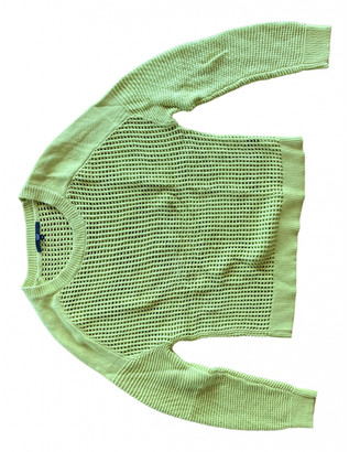 Tibi Yellow Cotton Knitwear