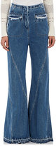 Esteban Cortazar Women's Wide-Leg High-Waist Jeans