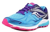 Saucony Ride 9 Gtx Round Toe Synthetic Running Shoe.