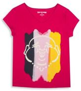 True Religion Girl's Buddha Tee