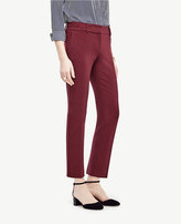 Ann Taylor The Ankle Pant in Doublecloth - Devin Fit