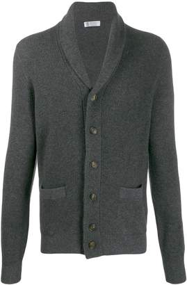 Brunello Cucinelli roll collar cardigan