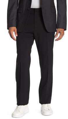 Theory Jake Black Wool Flat Front Suit Separate Trouser