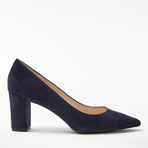 John Lewis Ava Block Heeled Court Shoes