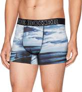 Joe Boxer Men's Surf's up Fitted Boxer