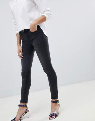 Only push up effect skinny jean in grey