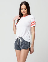 Others Follow Pigment Womens Dolphin Shorts