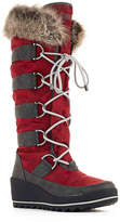 Cougar Women's Lancaster Snow Boot -Red/Grey