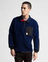 Topo Designs Navy Fleece Sweater