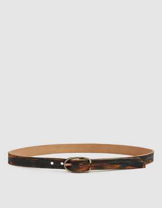 "Cause And Effect Men's 1"" Belt in Textured Paint, Size 30 