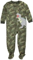 "Carter's Little Boys' Toddler ""T-Rex Roar"" Footed Pajamas"