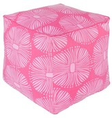 "Surya Hot Pink Oskol Multiburst Cube Pouf (18""X18""X18"")"
