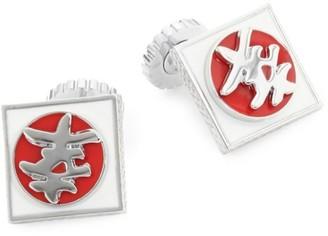 Tateossian Japanese Happiness Symbol Cuff Links