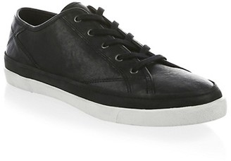 John Varvatos Jet Lace-Up Low Top Sneakers