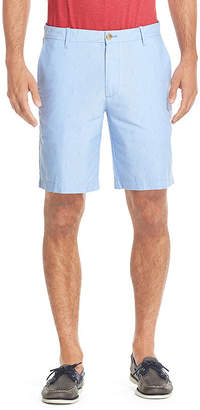 Izod Mens Mid Rise Stretch Chino Short-Big and Tall