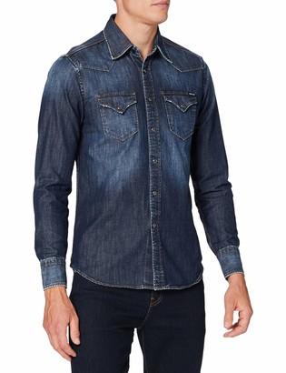 Replay Men's M4023 .000.26c 740 Shirt
