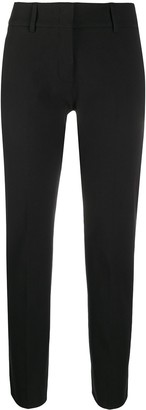 Piazza Sempione Slim-Fit Pleated Trousers