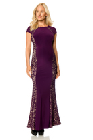 A Pea in the Pod Fit And Flare Maternity Gown
