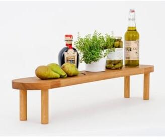 Wireworks 85cm Big Feast Natural Oak Serving Platter