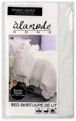 Alamode Home Sauton Sands Bedskirt